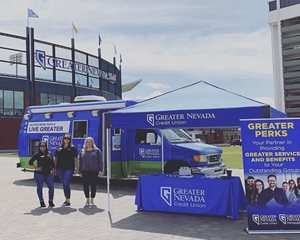 GNCU Mobile Branch at Greater Nevada Field