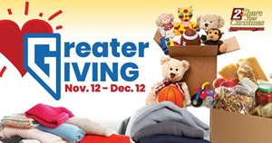 Greater Giving - Donate Through December 12
