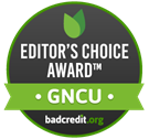 Editor's Choice Award from BadCredit.org