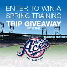 Aces and Greater Nevada Spring Training Trip Sweepstakes