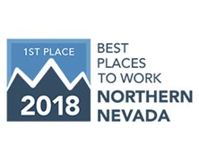 Best Place to Work Northern NV - First Place