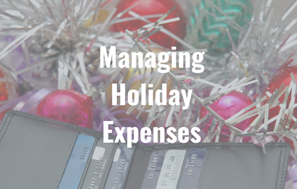 Managing Holiday Expenses