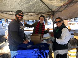Greater Nevada Polar Plunge booth