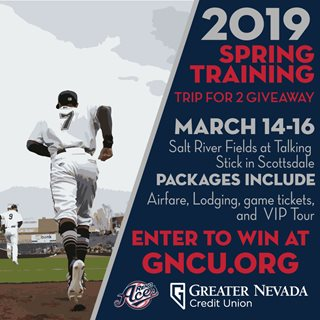 Enter to Win a Spring Training Trip