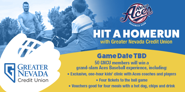 Hit a Homerun with GNCU and the Reno Aces