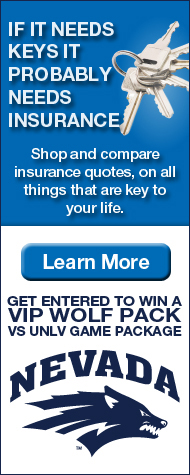 Insurance Sweepstakes - Wolf Pack vs UNLV